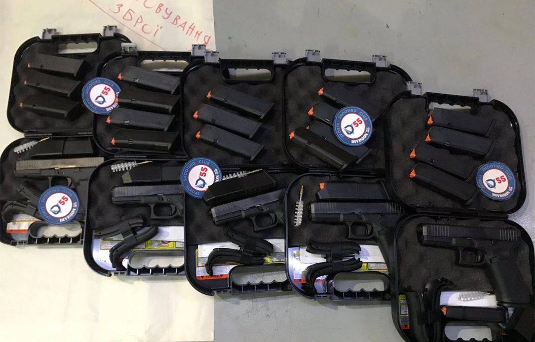 Арсенал тиру Division55 поповнився зброєю калібру 9х19