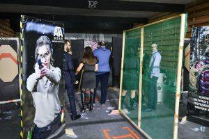 В тирі TOPGUN напередодні Нового Року 18/12/2020 атмосферно відбувся фан матч по мотивам фільму Mr. & Mrs. Smith, в якому реєструвалися тільки СТРІЛЕЦЬКІ ПАРИ.