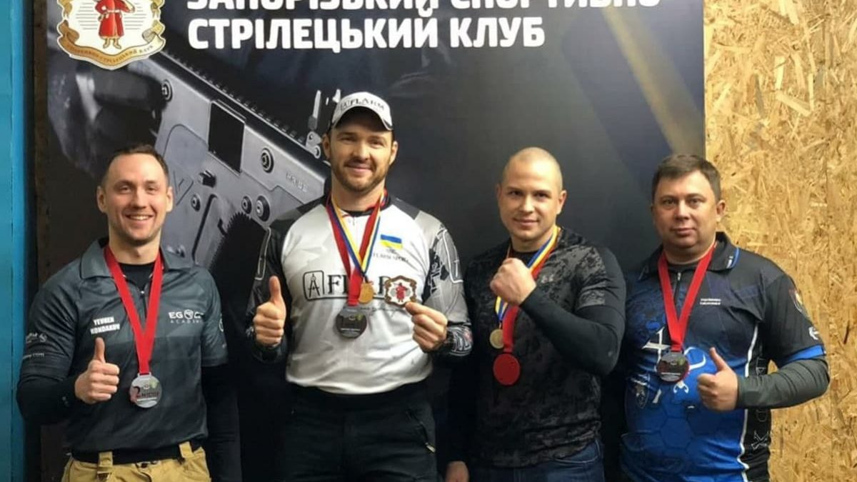 Відкритий чемпіонат Запоріжжя - пістолет та РСС