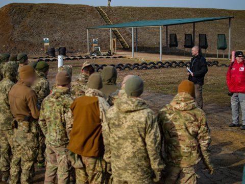 Факультет ПС Військової розвідки та спеціального призначення та члени спортивного стрілецького клубу DV55